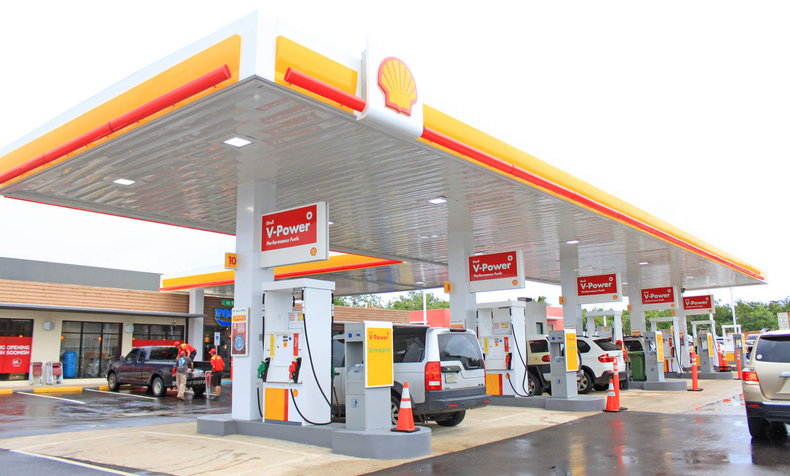 Nearest Gas Station With Car Wash