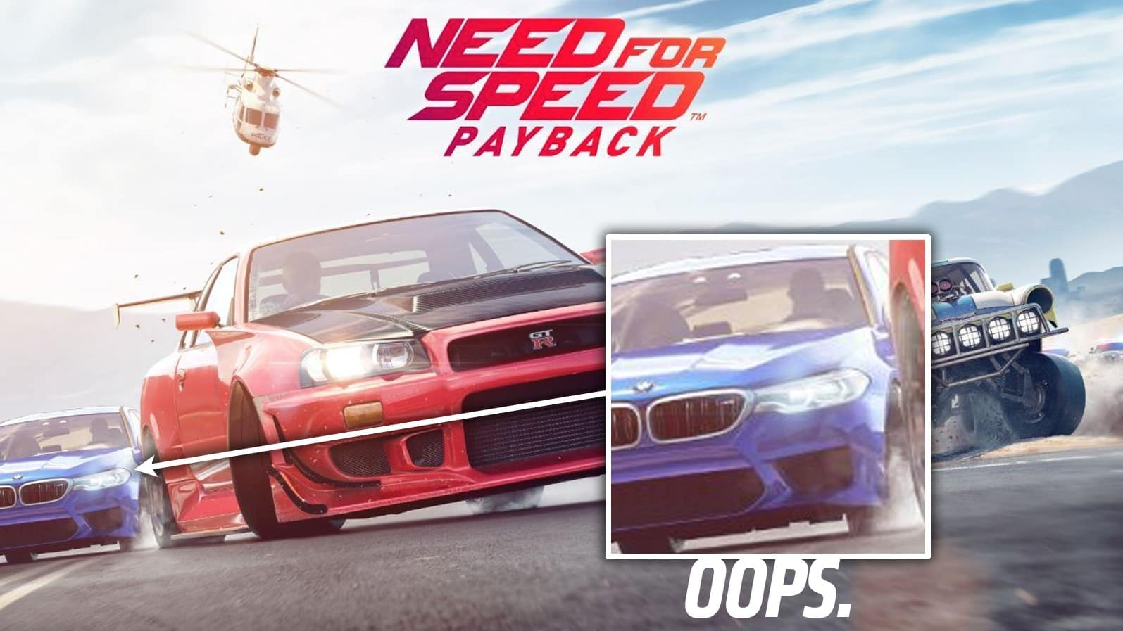 《Need for Speed Payback》意外洩密未發表 BMW M5 做封面